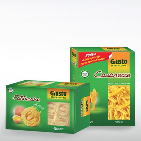 Fettuccine all'Uovo e Caserecce Trafilate - Make Italy