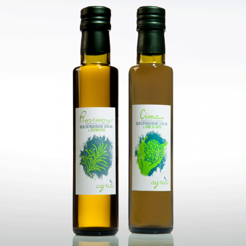 Flavoured Extra Virgin Olive Oil Agriè