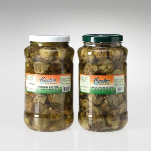 Carciofi Sott'Olio - Mc Italy Food