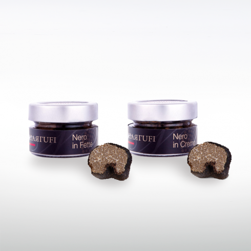 Tartufo Nero in Fette e in Crema Make Italy