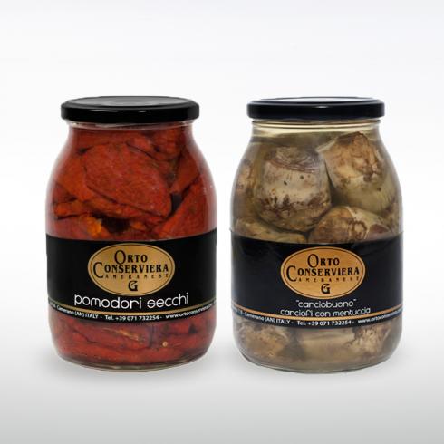 Pomodori Secchi e Carciofi Make Italy
