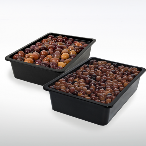 Greek and Taggiasche Olives Make Italy