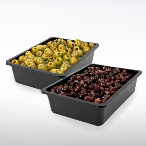 "Black Olives ""Marchigiana"" and Stuffed Green Olives Make Italy"