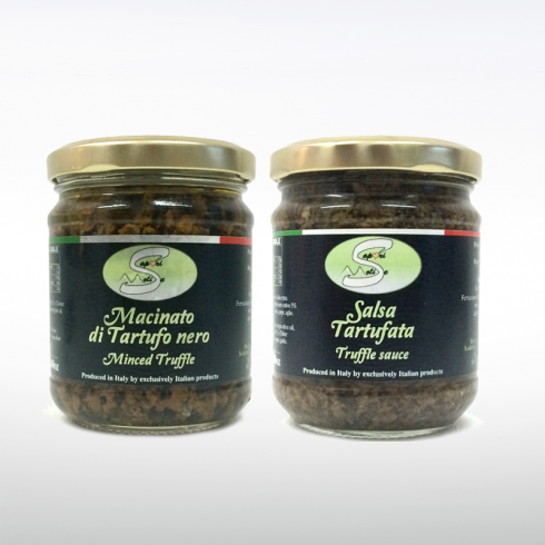 Minced Truffle and Truffle Sauce MAKE ITALY