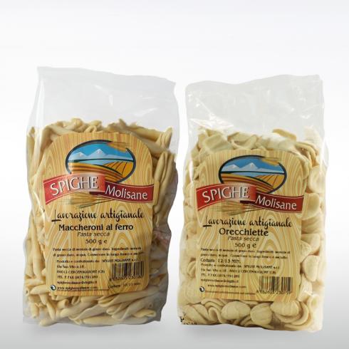 Maccheroni and Orecchiette Pasta Make Italy