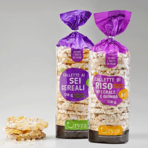 Organic gluten free rice cakes - Make Italy