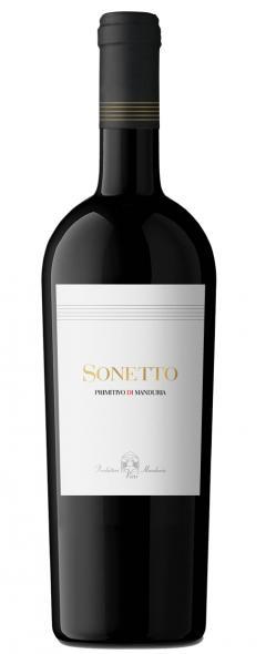 Sonetto Primitivo -Vino Rosso - Make Italy