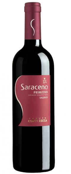 Saraceno Primitivo Red Wine - Make Italy